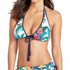 Tommy Bahama Jungle Flora Reversible Halter Bra Bikini Top-NWOT (Small)