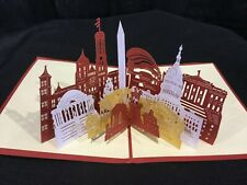 Washington DC 3D Pop Up Card