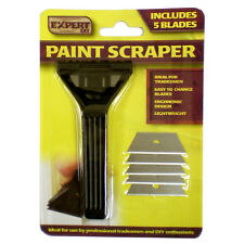 Window Glass Tile Paint Scraper Remover with 6 Blades Included