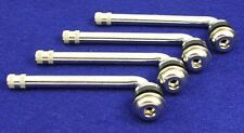 "CHROME VALVE STEMS 90 DEGREE ANGLED SET OF 4 3.30"" LONG PART # 2994"