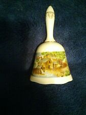 Vintage 1979 Currier And Ives Porcelain Bell The Road Side Mill Limited Edition