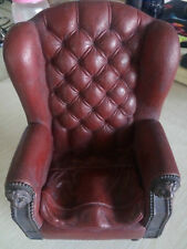"1/6 Scale CMToys Red Single Sofa Chair Furniture Model F 12"" Doll Figure Toy CN"