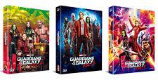 Guardians Of The Galaxy Vol.2 - Blu-ray Steelbook Full Slip, Lenticuar / 2D & 3D