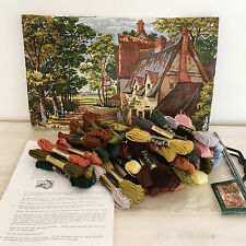 Kinetic Needlepoint Kit The Swan Inn British Collection 1986 Complete Kit