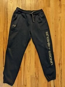boys under armour loose fit Cold Gear sweatpants Navy YXL