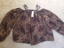 River Island Leopard Animal Print Tops & Shirts for Women