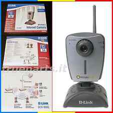 D-LINK® DCS-950G★WiFi COLOR NETCAM WEBCAM SECURICAM★VIDEOCAMERA di RETE WIRELESS