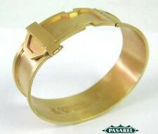Superb 14k Yellow Gold Designer Bangle Bracelet