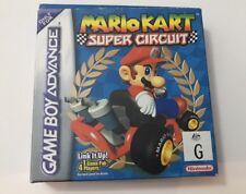 Mario Kart: Super Circuit (Nintendo Game Boy Advance, 2001) In Box