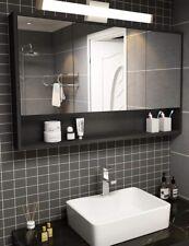 YHTlaeh Bathroom Vanity Light Brushed Nickel Square LED 24 inch 14W White Light