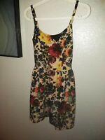 Maitai Floral Sleeveless Dress Size Medium