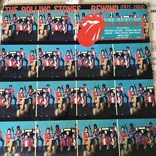 Rewind - 1971-1984 - Tongue Sticker Rolling Stones vinyl LP album record UK EX