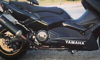 Adesivi sottopedana Yamaha TMAX 500-530 T MAX stickers decal T MAX