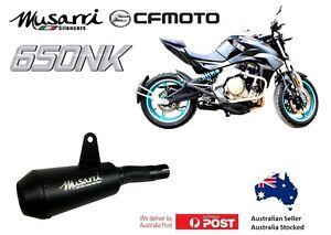 CFmoto 650NK 2012-2021 Musarri Black GP Street Series slipon exhaust