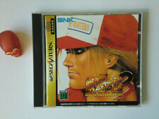 Fatal Fury / Garou Densetsu 3 Sega Saturn/SS japan version occ/used