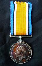 WW1 BRITISH WAR MEDAL: 23551 PTE. BENJAMIN BATE. WORCESTERSHIRE REGT.