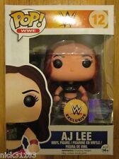 Funko POP! AJ LEE WWE Exclusive Vinyl Figure Wrestling DIVA CHAMPION