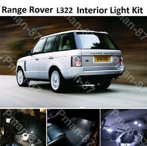 PREMIUM RANGE ROVER VOGUE L322 2002-2012 LED INTERIOR KIT LIGHTS XENON WHITE