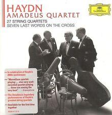HAYDN Amadeus Quartet 27 String Quartets box CD NEW Seven Last Words on The Cros