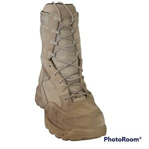 Danner Rivot TFX 8 Inch Mens 9 EE Tan Military Boots 101287 Gore Tex