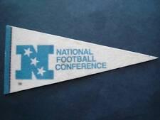 "Vintage NFL Football Mini Pennant 9"" NFC National Football Conference"