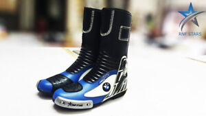 FR-1 for BMW Men's Motorcycle Boots Riding Leather Boots All Size Available