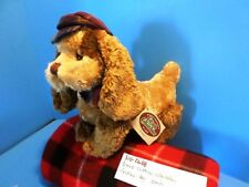 Ganz Cottage Collectibles Barkley the Brown Dog plush(310-2668)