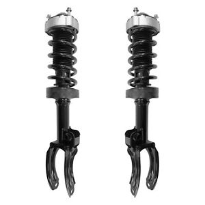 Unity New Front Loaded Struts Pair Fits Porsche Cayenne 2011-2018 W/O Air Suspen