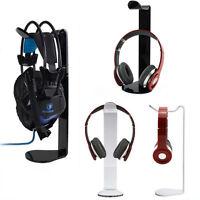 New Acrylic Earphone Headset Hanger Holder Headphone Stand Holder Desk Display