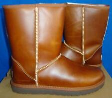 UGG Australia Chestnut Classic Short Leather Boots Size US 6, EU 37 NIB #1005372