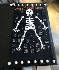 Pottery Barn Kids Halloween Skeleton Advent Calendar