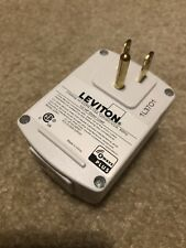 Leviton Dzpa1 Plug-In Outlet with Z-Wave Technology - White