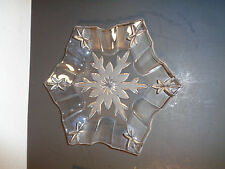 Marquis by Waterford Crystal Snowflake Shaped Dessert Plate (8 inch)