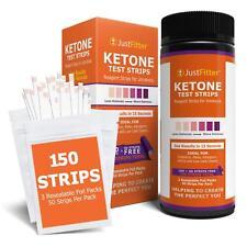 150 Ketone Test Strips|Urine Analysis|Paleo|Ketosis|Keto Diet Sticks|Diabetic
