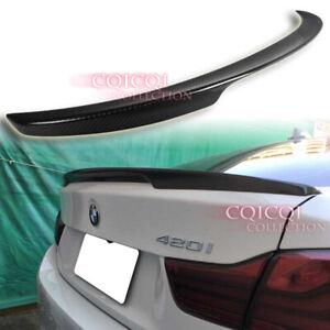 Carbon Fiber BMW 14~20 F36 4-series gran coupe performance type trunk spoiler◎