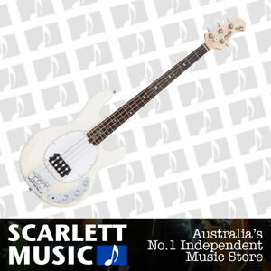 Sterling by Music Man SUB Ray 4 Vintage Cream Bass Guitar
