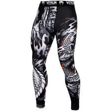 Venum Dragon's Flight Dry Tech MMA Compression Spats - Black/White