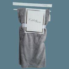 "💞Celebrity Home  Luxe Soft Rabbit Hair Throw Blanket  50"" x 60""  Gray 💞"