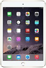 Apple iPad Mini 3 - 16GB Wi-Fi + Cellular (GSM Unlocked) 7.9in - Gold 4G LTE