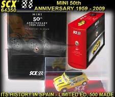 SCX 1/32 64350 Mini Cooper 50th Anniversary Car and Book Ltd. Ed.