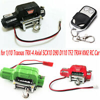 Automatic Crawler Winch Traction Control For RC 1:10 TRX4 Axial SCX10 D90 D110