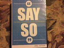 SAY SO DECLARING GOD'S PROMISES SEEING GOD'S GOODNES BY JOEL OSTEEN NEW & SEALED