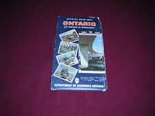 1967 Ontario Canada Official Road Map
