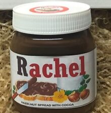 Nutella Hazelnut Spread 400g Jar with Personalised Name Label