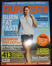 Runner's World Magazine, July 2010 - Burn Fat Fast, Speedwork made easy