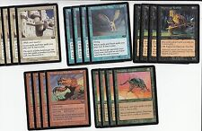 20 Familiar Creatures - Planeshift  - NM/SP - 4x of each - Sets - Magic MTG FTG