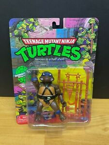 Teenage Mutant Ninja Turtles Retro 2021 Walmart Exclusive DONATELLO Figure MIMB