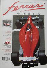 Ferrari World magazine Issue 9 November/December 1990 312 P