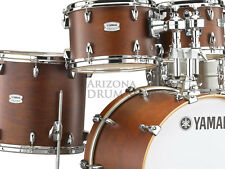 "Yamaha Tour Custom Maple 4pc Drum Shell Pack w/ 20"" Bass, Chocolate Satin - New!"