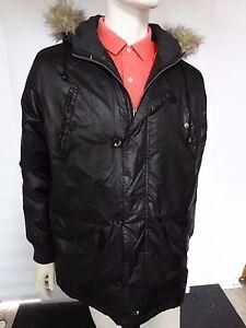 Bellfield Parka Jacket Black